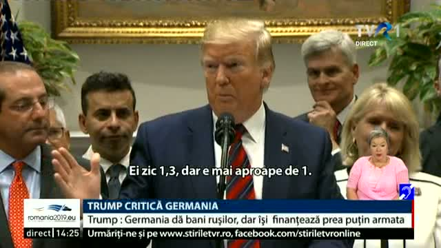Trump critică Germania