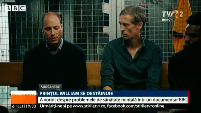 Prințul William se destăinuie