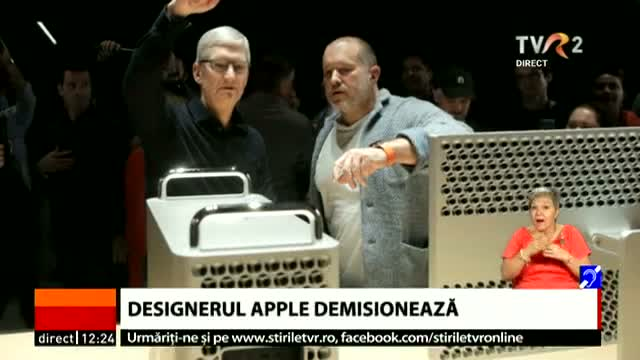 Demisie la Apple