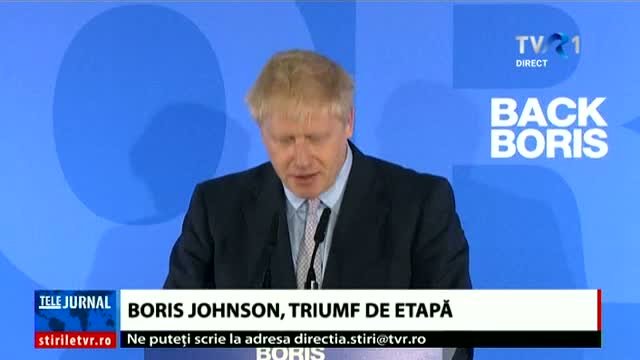 Boris Johnson, triumf de etapă