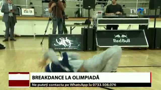 Breakdance la olimpiadă