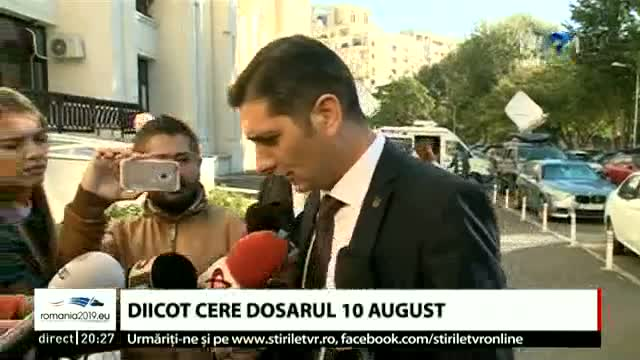 DIICOT cere dosarul 10 august