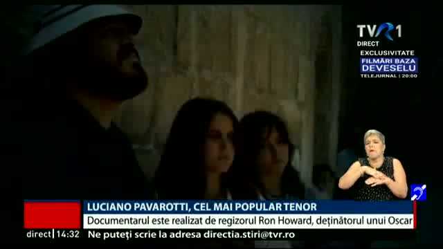 Pavarotti, cel mai popular tenor