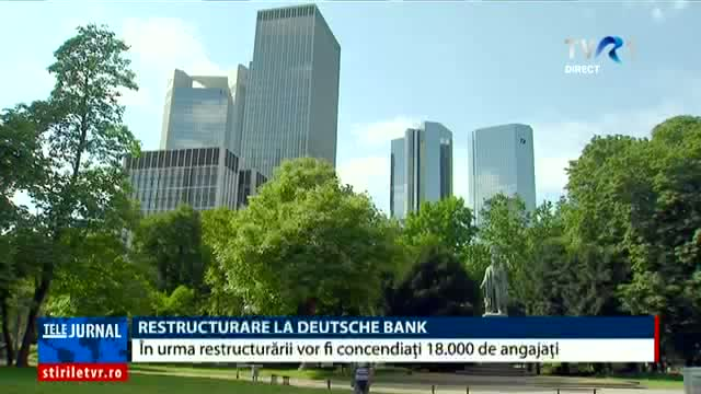 Restructurări la Deutsche Bank