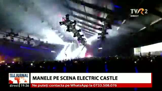 Manele pe scena Electric Castle