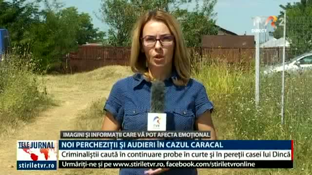 Noi percheziții și audieri la Caracal