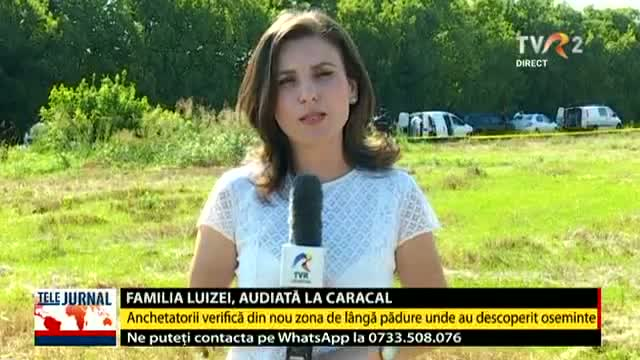Familia Luizei, audiată la Caracal