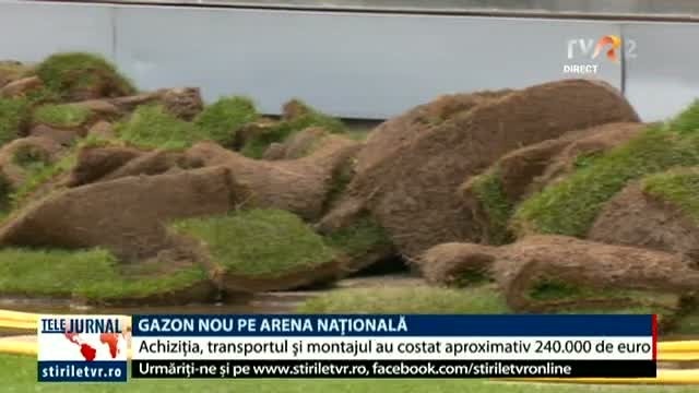 Arena Națională are gazon nou