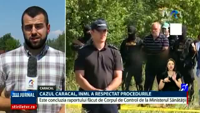 Cazul Caracal, IML a respectat procedurile