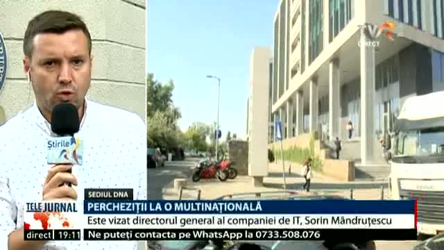 Percheziții la o multinațională