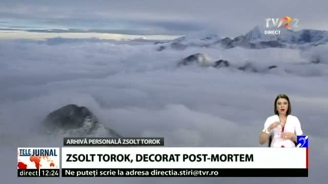 Zsolt Torok, decorat post-mortem