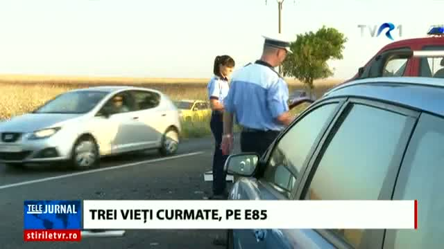 Accident cumplit pe E85