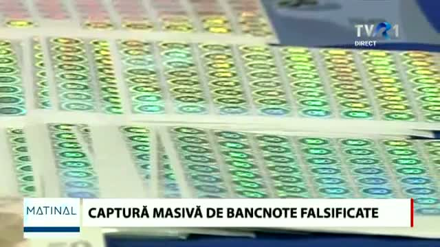 Captură record de bancote falsificate