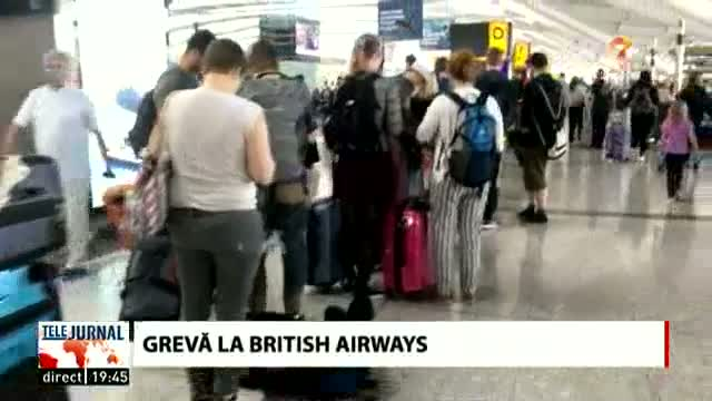 Grevă la British Airways