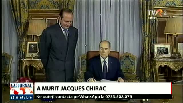 A murit Jacques Chirac