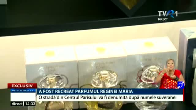 A fost recreat parfumul Reginei Maria