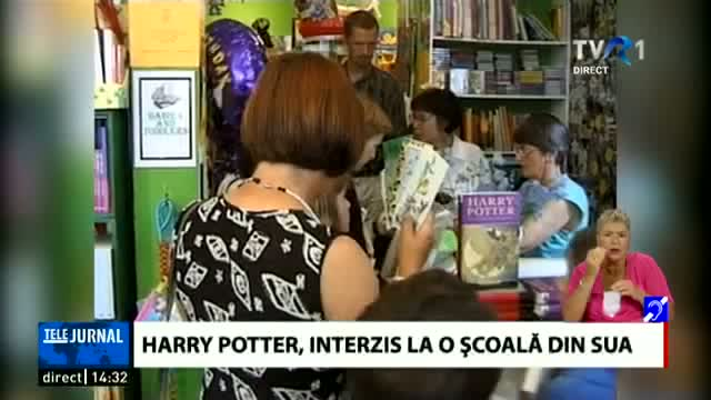 Harry Potter, interzis la o școală din SUA