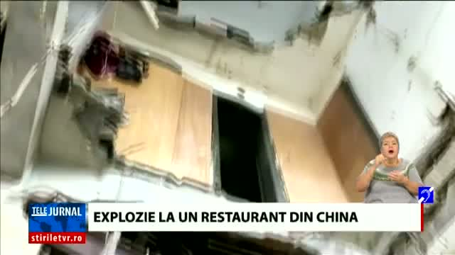 Explozie la un restaurant din China