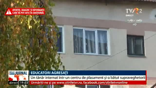 Educatori agresați