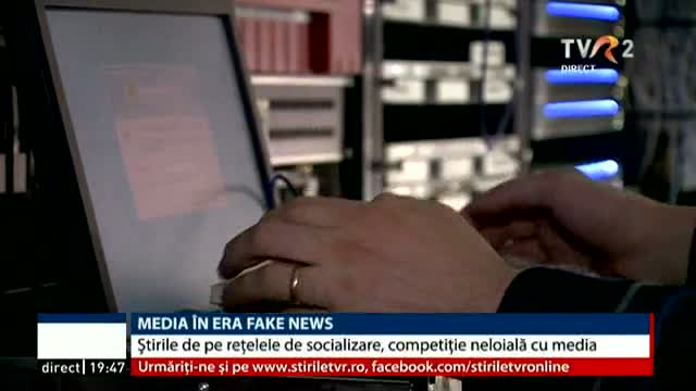 Media în era fake news