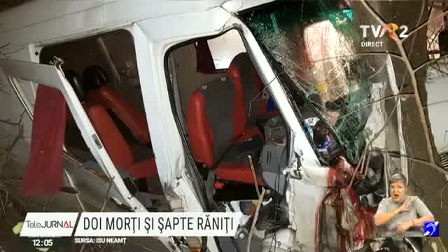Accident cu doi morți si șapte răniți
