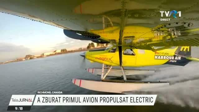Primul avion propulsat electric
