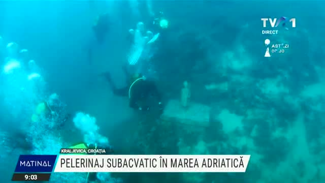 Pelerinaj subacvatic