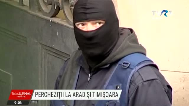 Percheziții DNA la Arad și Timișoara