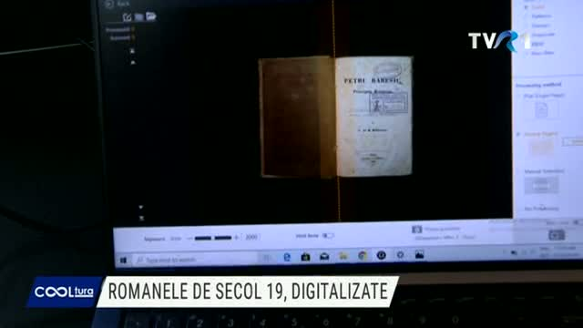 COOLTURA Romanele de secol XIX, digitalizate
