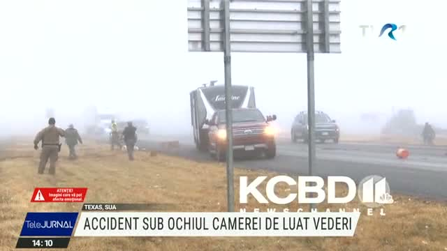 Accident terifiant în Texas