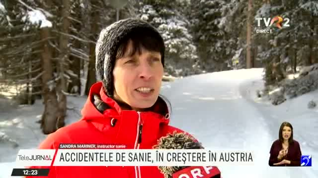 Accidentele de sanie, în creștere în Austria