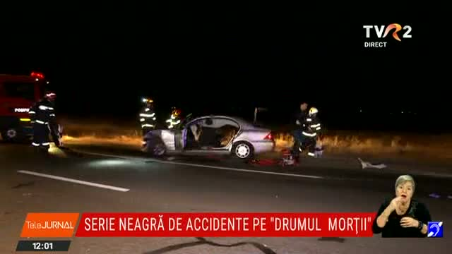 Accidente cu morți pe E 85