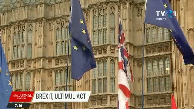 Brexit, ultimul act