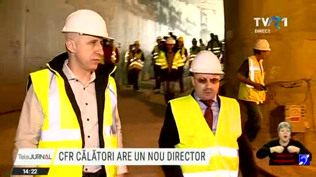 CFR Călători are un nou director