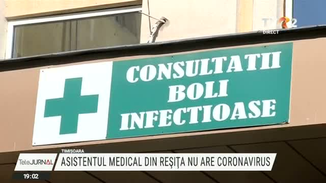 Asistentul medical suspect de coronavirus are viroză
