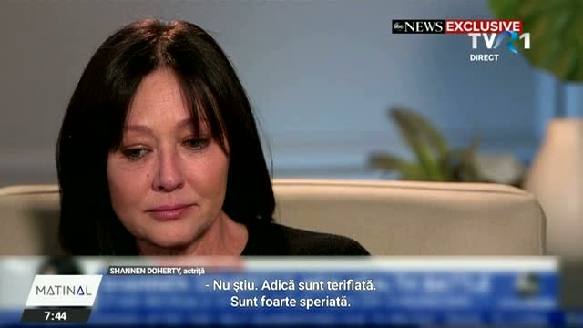 Shannen Doherty, îngenunchiată de cancer