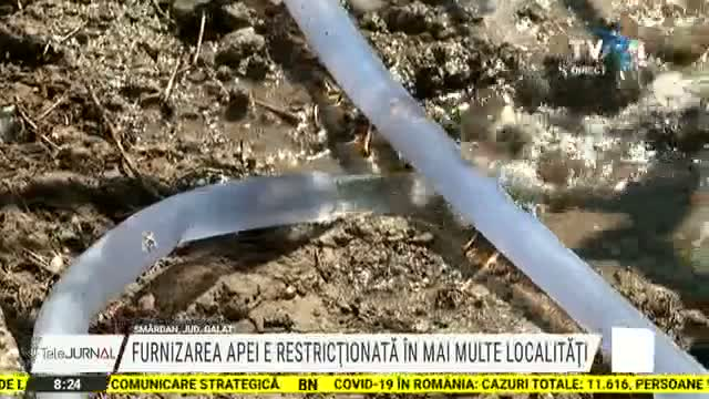 Localitati cu apa restrictionata