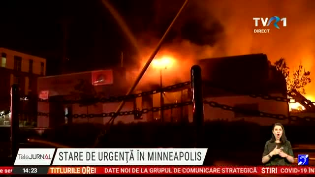 Stare de urgență la Minneapolis