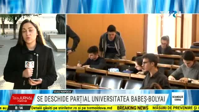 Se redeschide partial Universitatea Babes Bolyai