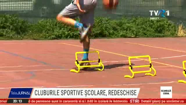 Se redeschid cluburie sportive școlare