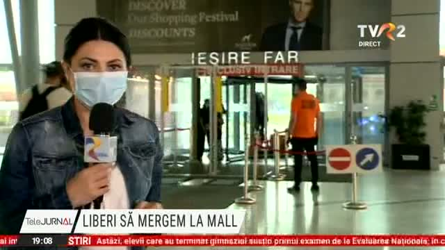S-au redeschis mall-urile