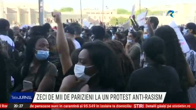 Proteste la Paris
