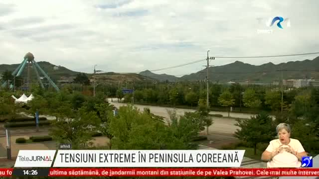 Tensiuni in Peninsula Coreeana