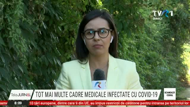 Cadre medicale infectate