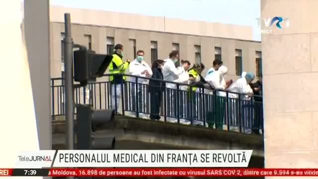 Personalul medical se revoltă