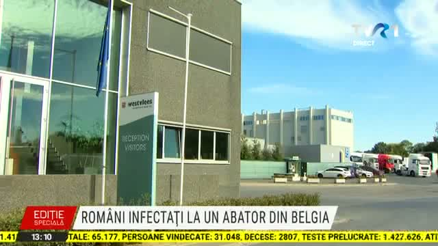 Romani infectati in Belgia