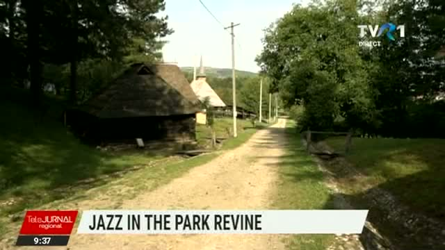 Telejurnal regional - Jazz in the Park revine