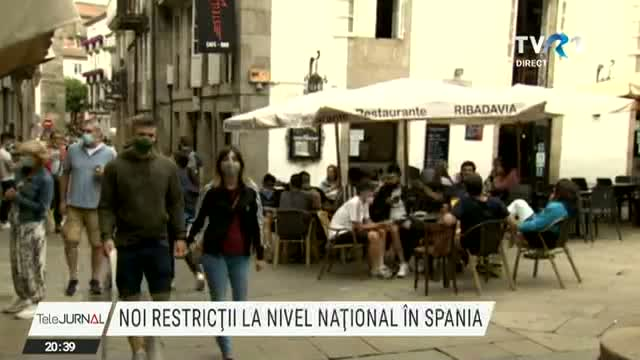 Noi restrictii in Spania