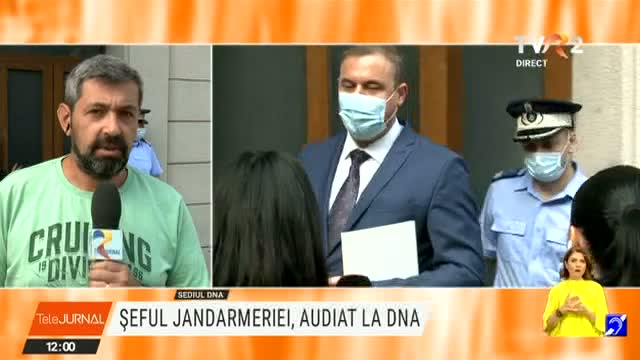 Șeful Jandarmeriei, audiat la DNA