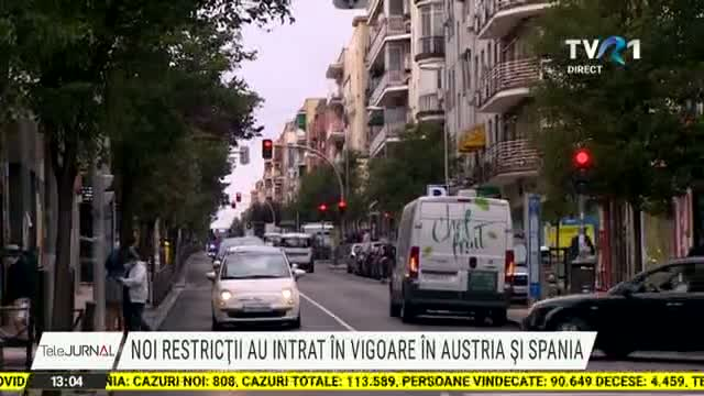 Noi restrictii in Austria si Spania